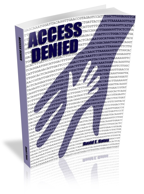 New 3D Cover of Access Denied created.